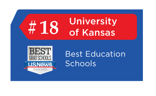 The University of Kansas as #18 overall in 2019. Schools are ranked according to their performance across a set of widely accepted indicators of excellence.