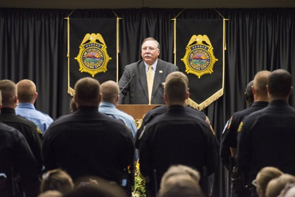 Approximately 10,000 officers have trained at KLETC during Pavey's 23-year tenure as director.