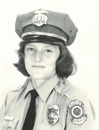 At 22 years old, Beckie Miller was a rookie with the Wichita Police Department.
