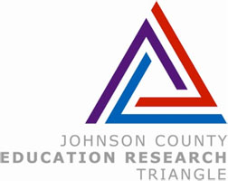 Johnson County Education Research Triangle logo